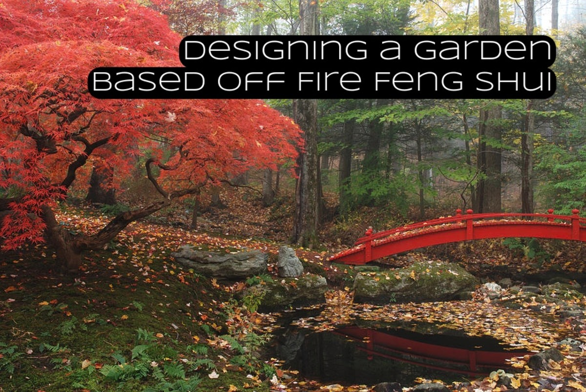 Designing a garden around fire feng shui can make your outdoor space all the more attractive. You can do this easily by adding pops of red, adding string lights, and triangular objects into your yard.