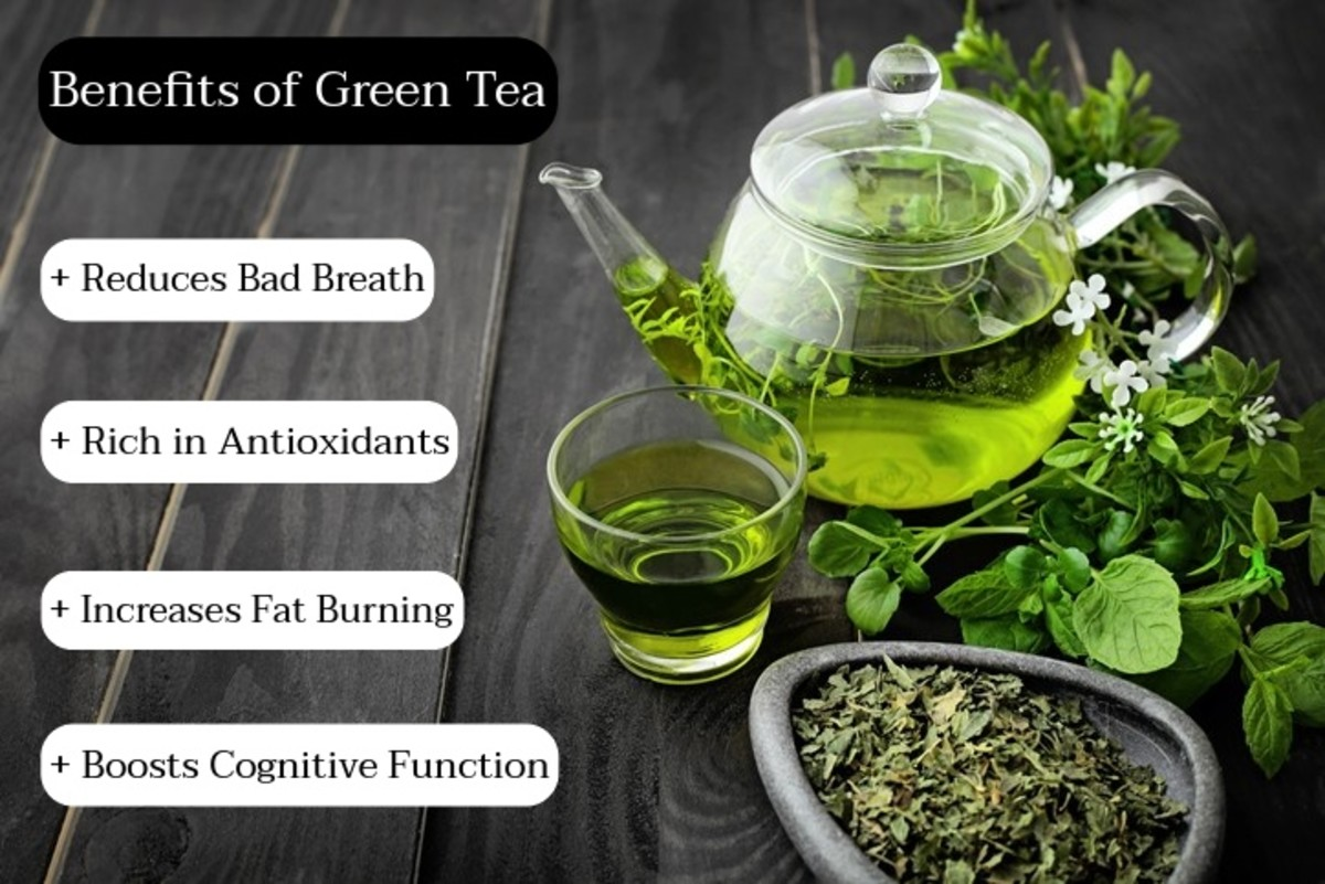 Drink green tea before a long walk or before a big test. Green tea helps boost cognitive activity. It's also great to drink if you want to manage weight.