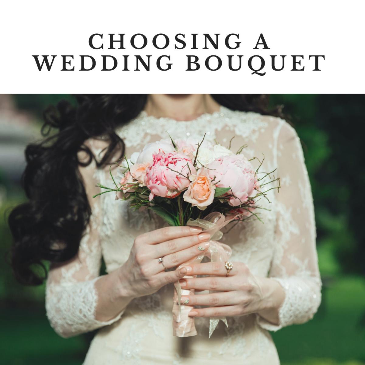 Choosing a Wedding Bouquet