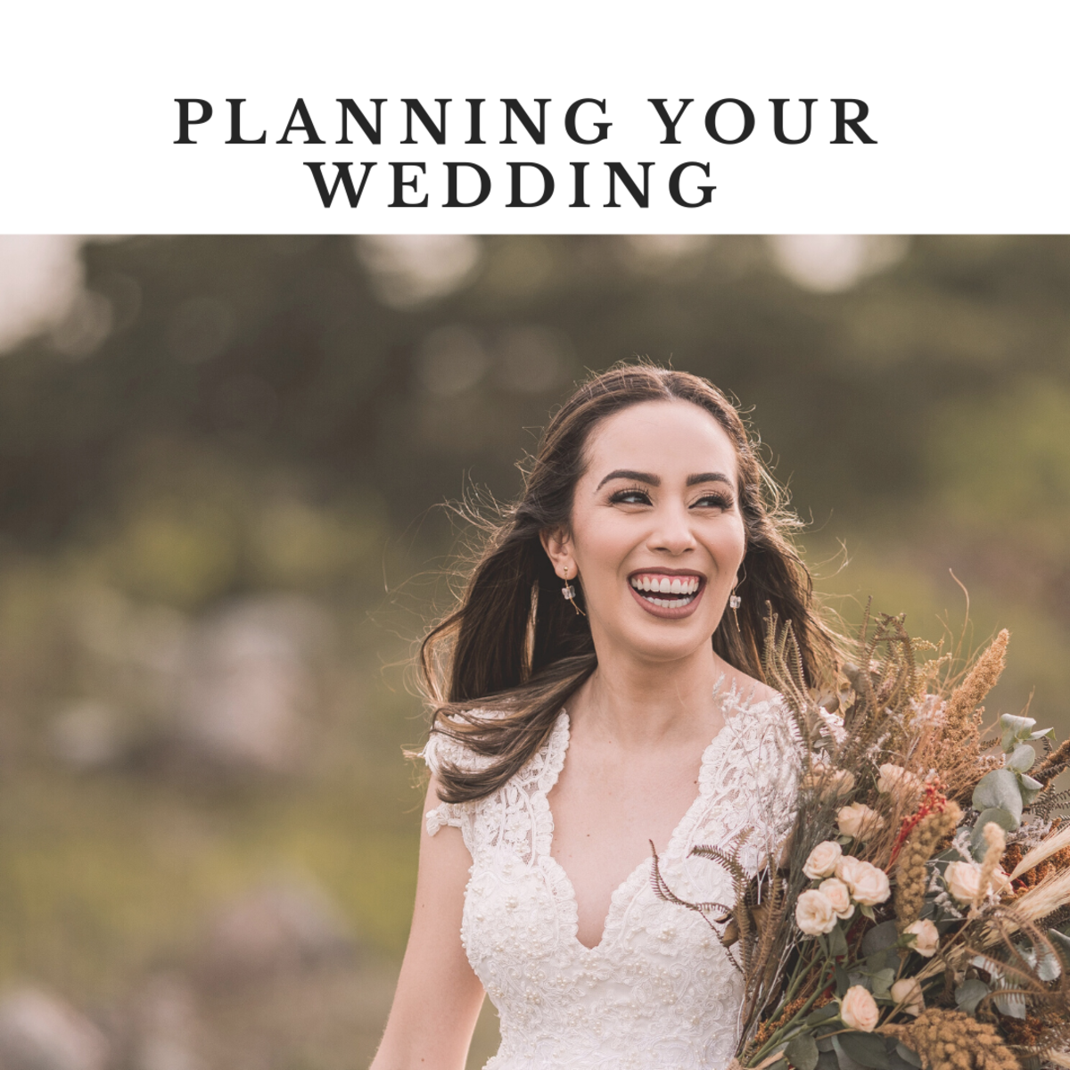 Planning your wedding day.
