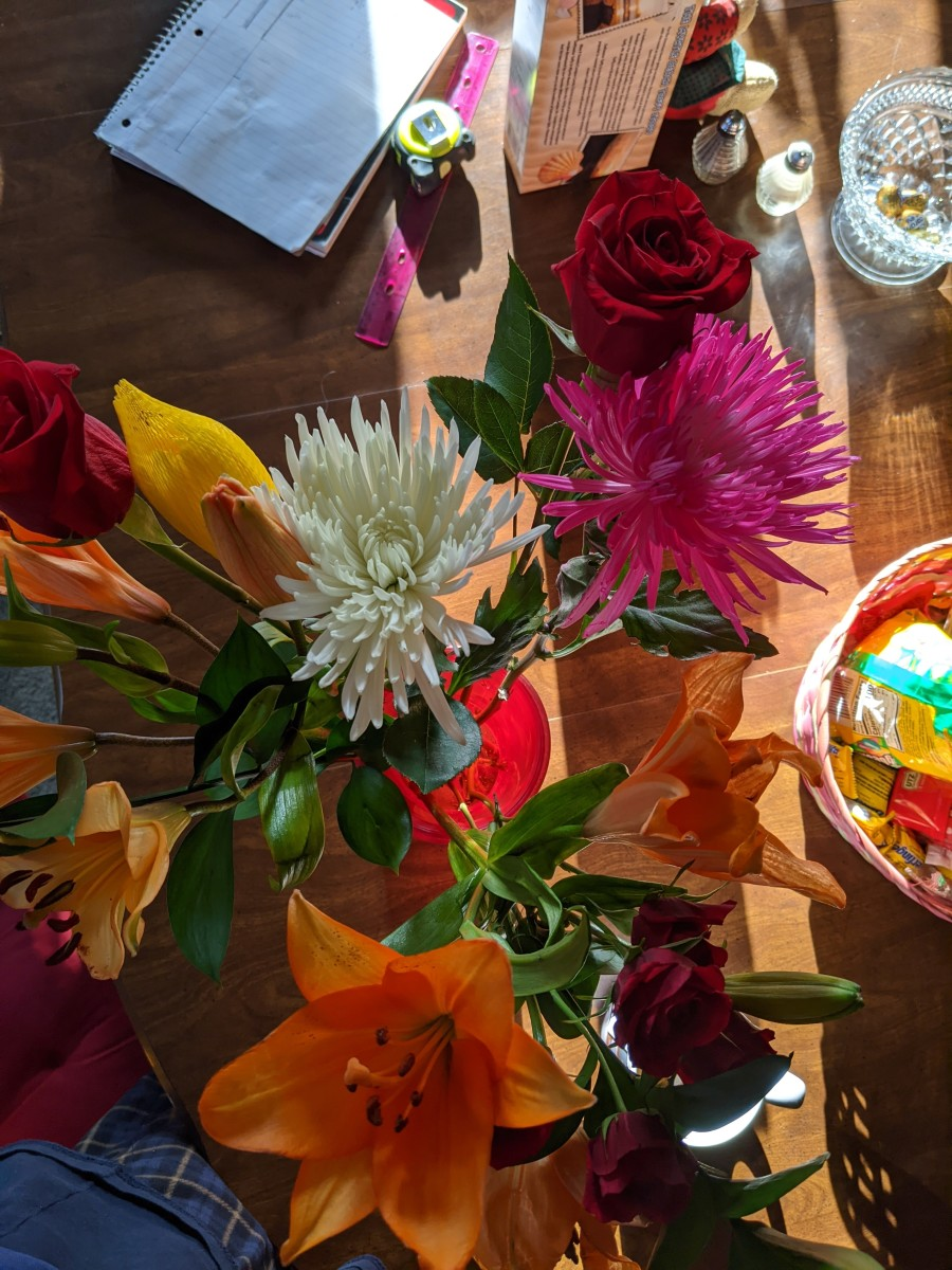 easter-flowers-feeding-them-for-a-while