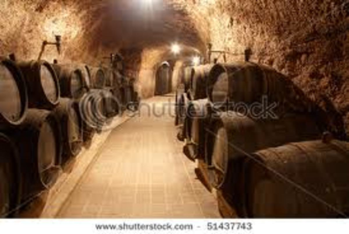 This is more like a Genzano cave where they make wines.