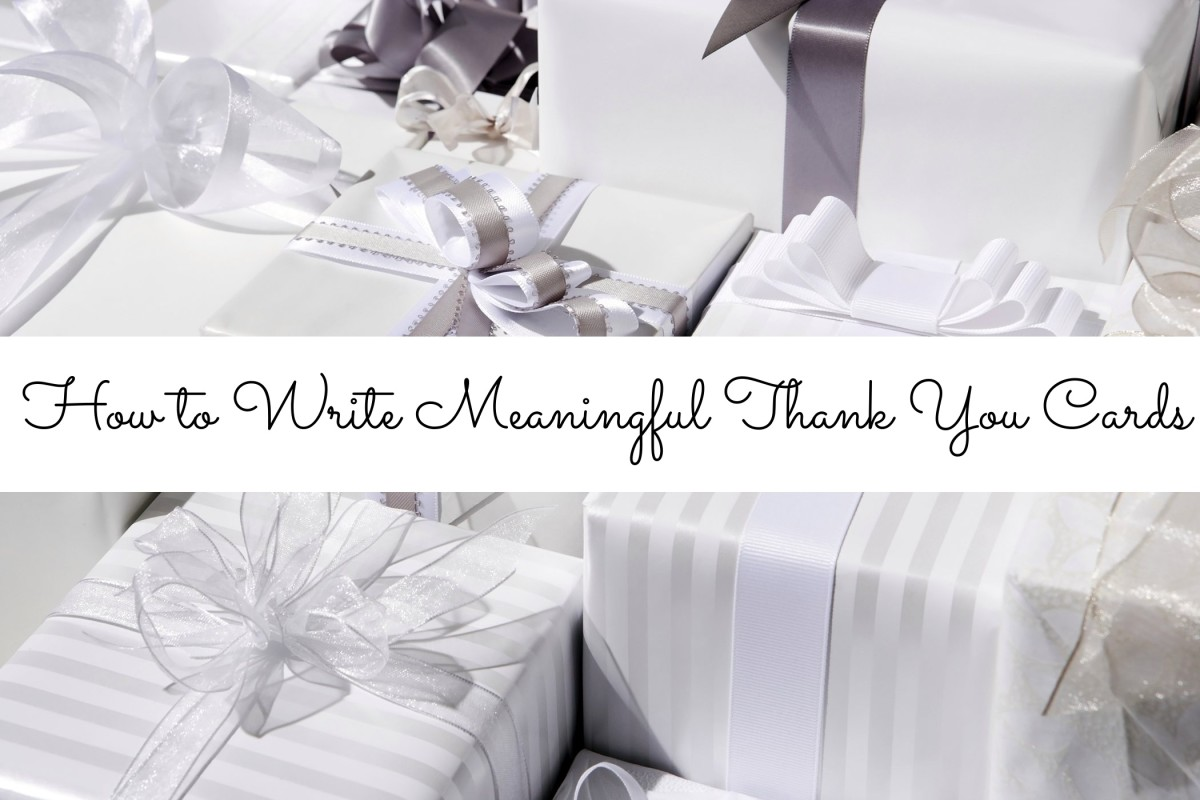 Writing the perfect thank you cards for wedding gifts should come from the heart. You want people to feel good about what they gave you.