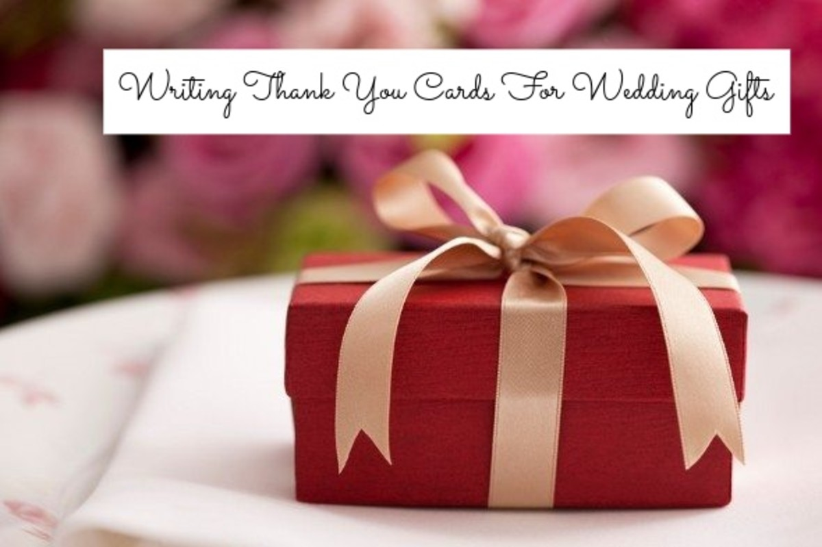This is definitely not the task most people look forward to with a wedding. It's tedious, but it's still a good thing to do to show your guests gratitude.