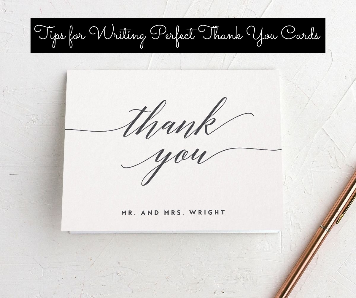 (1) Be specific about what they gave you, (2) express gratitude, (3) thank them for anything extra they did for your wedding, (4) proofread your card to make sure you didn't goof up, (5) keep it positive
