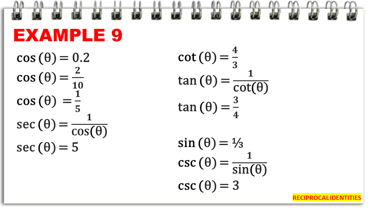 Getting the Value of Reciprocals