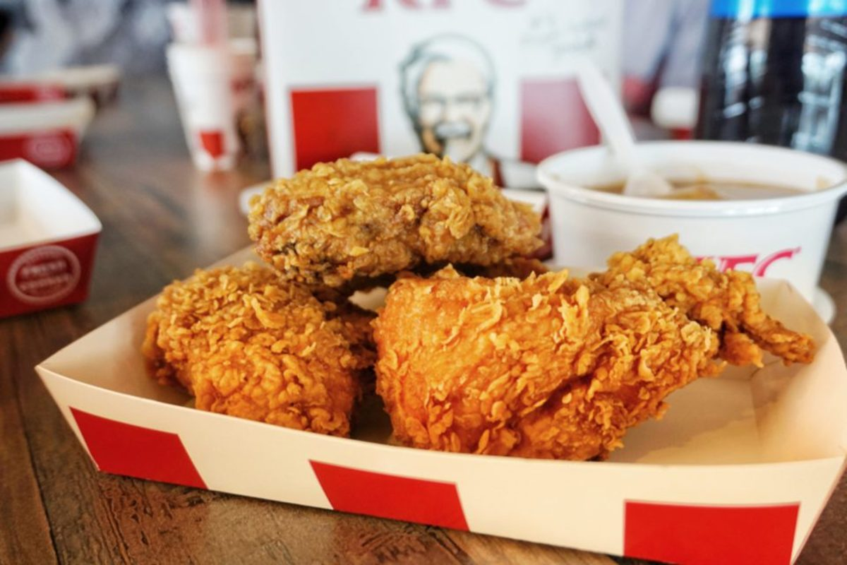 KFC—short for Kentucky Fried Chicken—is an American fast food restaurant chain that specializes in fried chicken. Founded in 1930 by Colonel Harland Sanders, it is the world's second-largest restaurant chain with 22,621 locations in 150 countries.