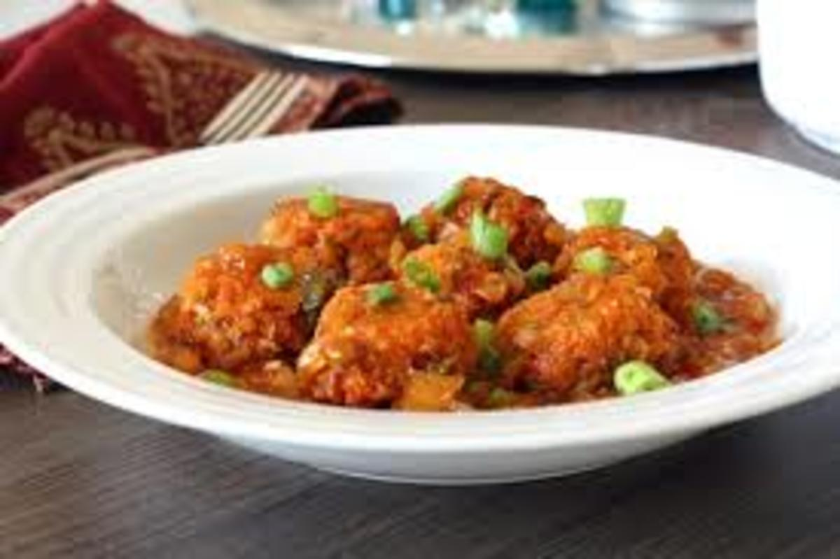 vegetable-manchurian-chinese-starter