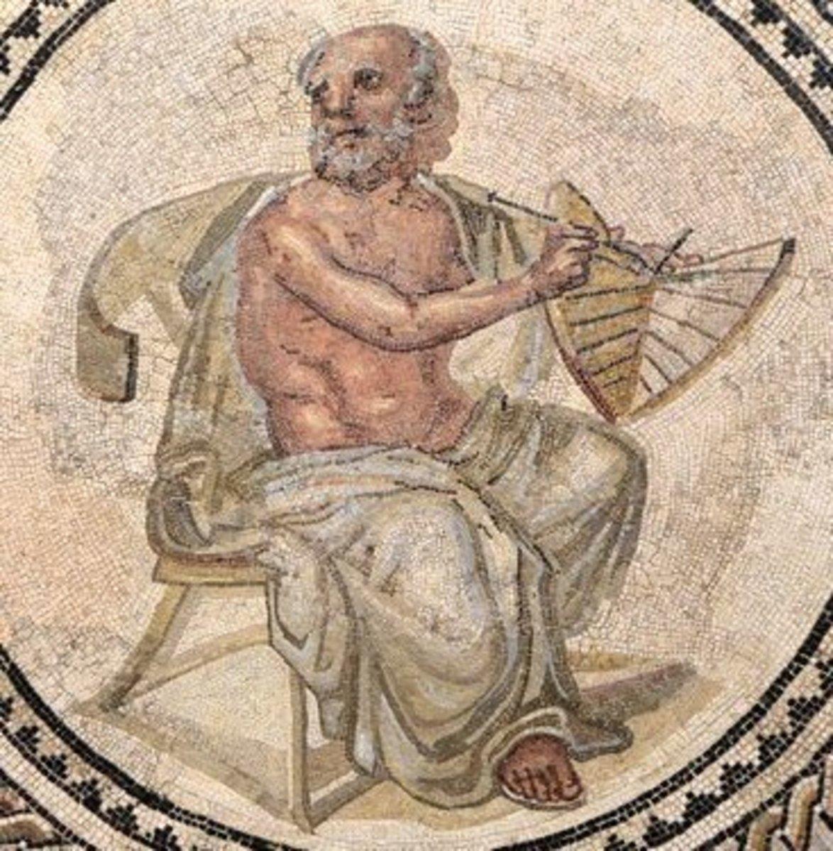 The Ancient Greek Philosopher Anaximander of Miletus