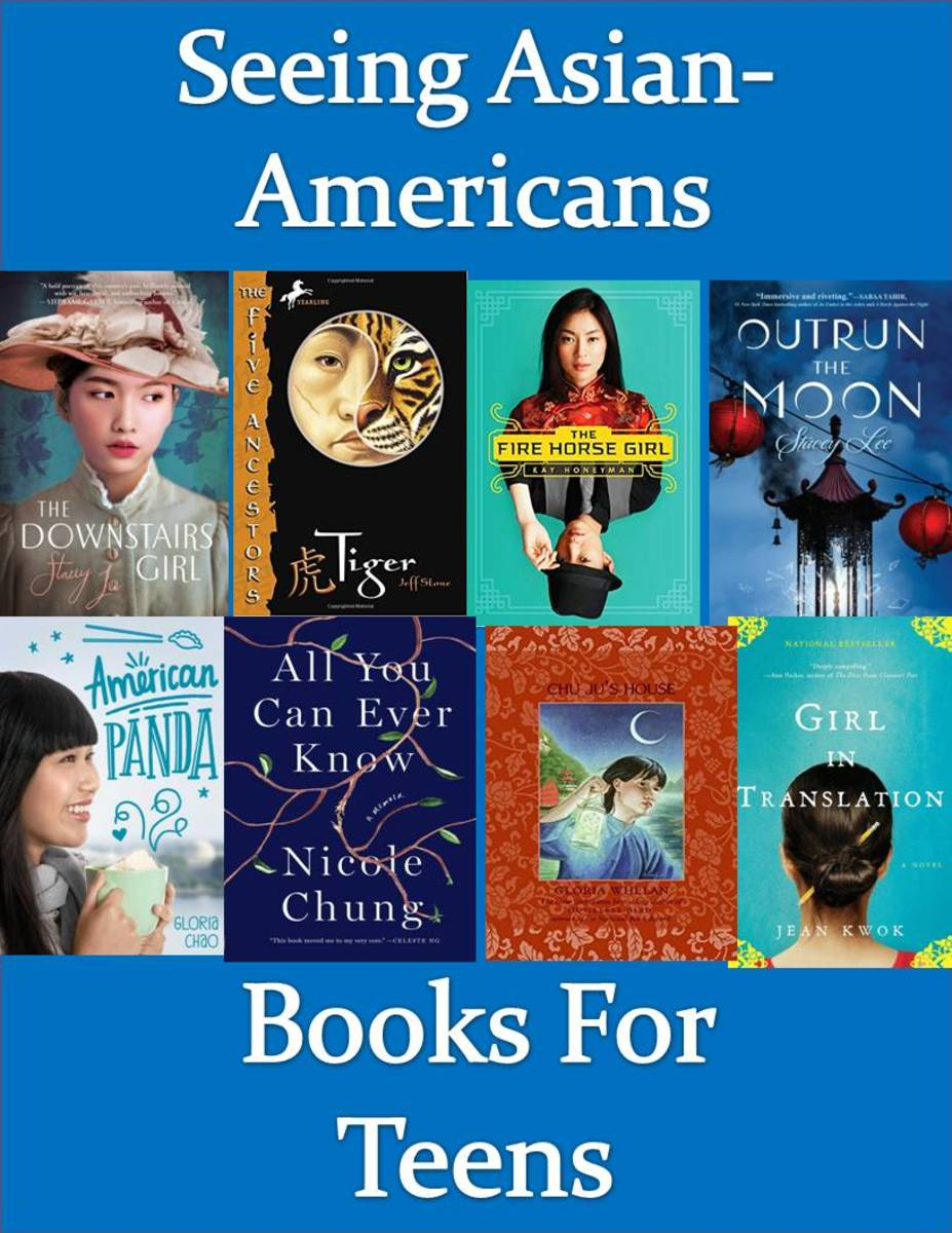 The site has reviews of books that show the Asian-American experience for teens.