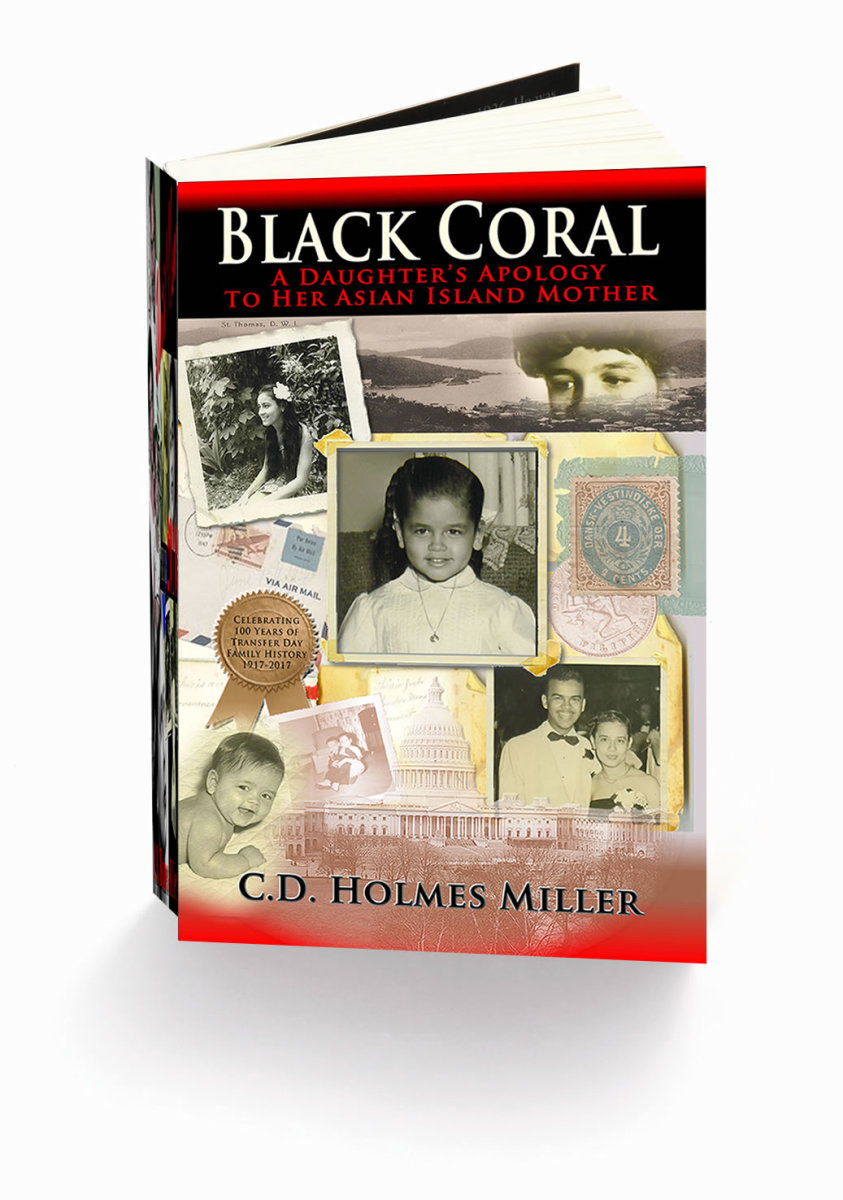 Black Coral: A Daughter's Apology To Her Asian Island Mother by C.D. Holmes-Miller