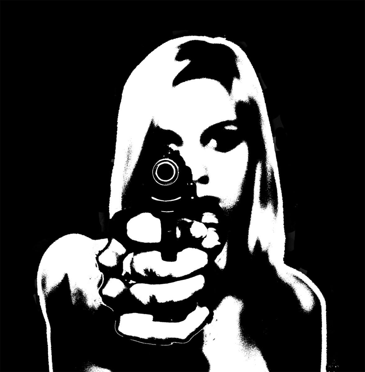 My gun?