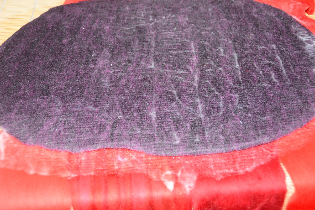 Flip the project over and cover the previous fibers using the overlapping fibers to cover the previous layers.