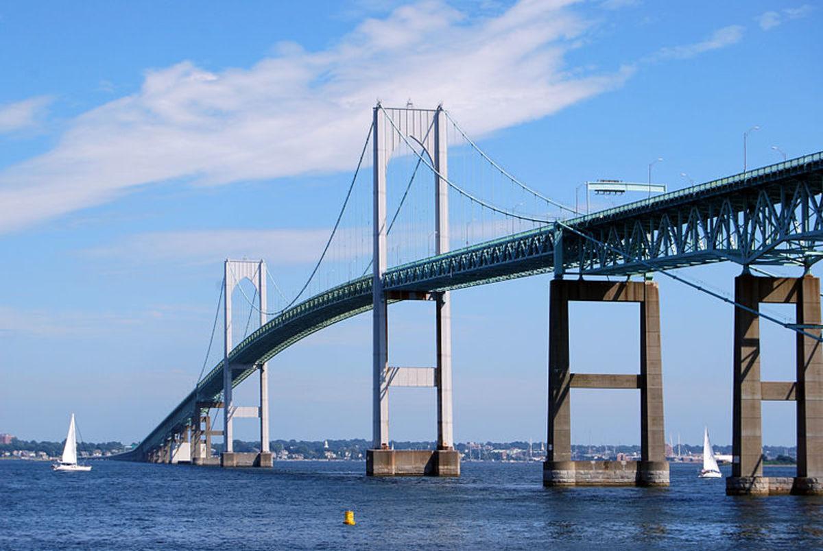 Rhode Island's Claiborne Pell Newport Bridge
