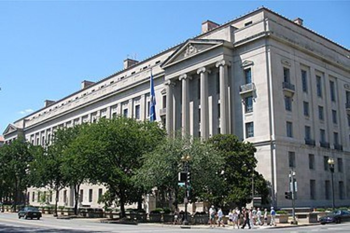 The federal Department of Justice is tasked with legal management of national emergencies.