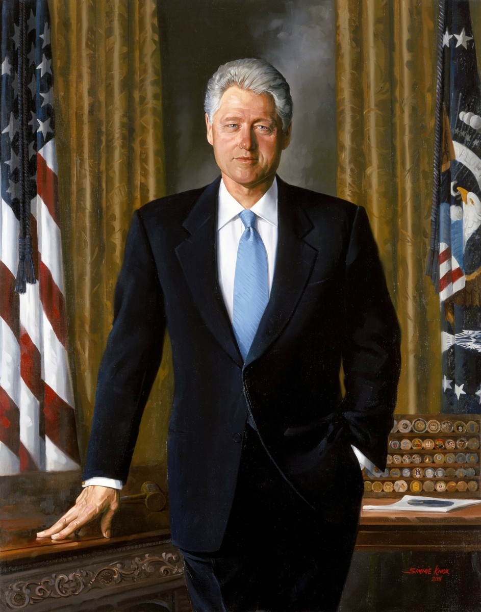 William J. Clinton, the 42nd president of America.