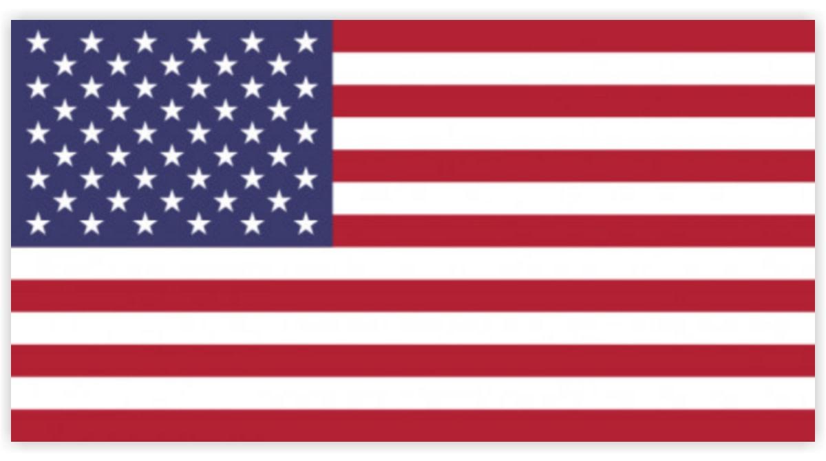 Banner of USA