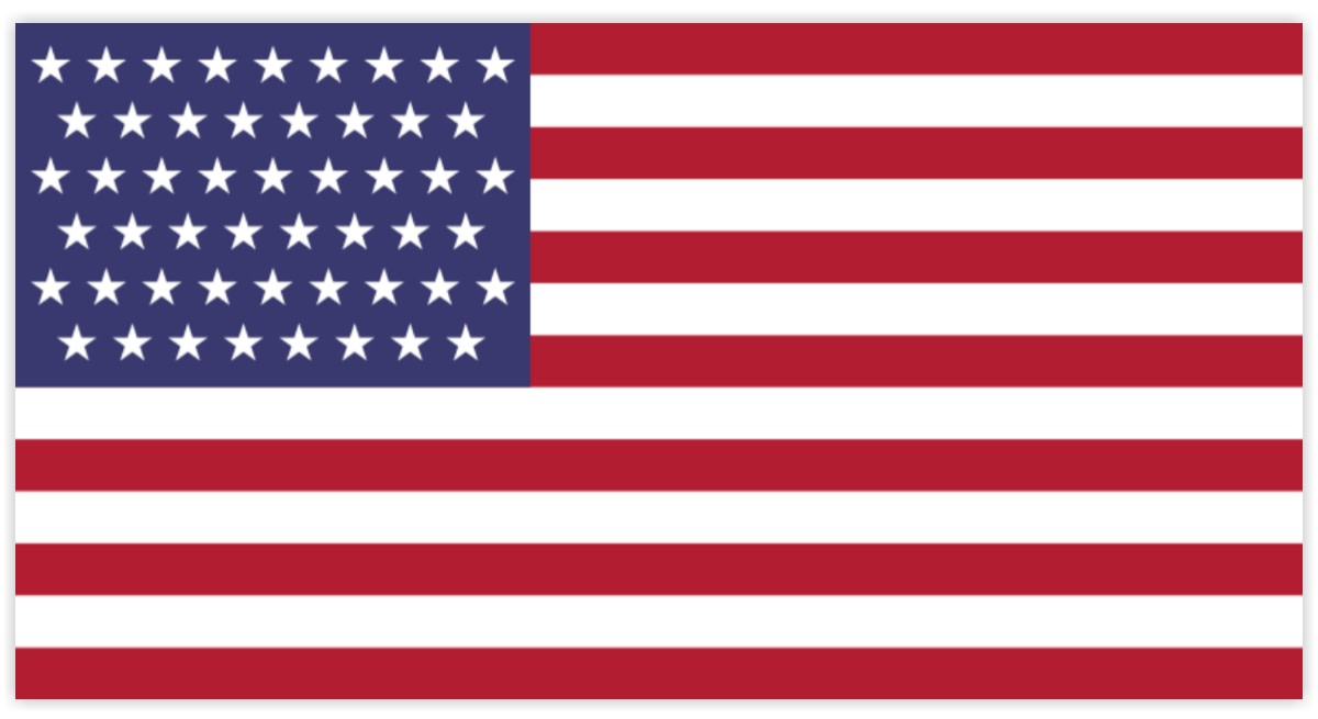 The USA has prepared a flag with 51 stars that will be used in case a new state would join the American union.