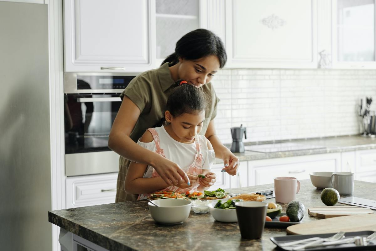 Spend an afternoon cooking childhood favorites together!