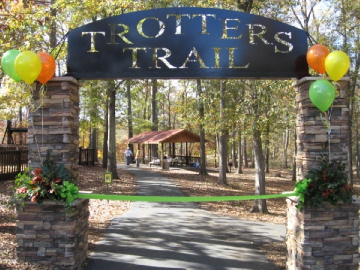 Entrance to Trotter's Trail