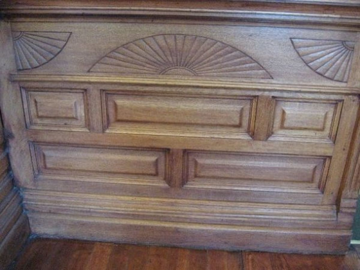 More detailed woodwork.