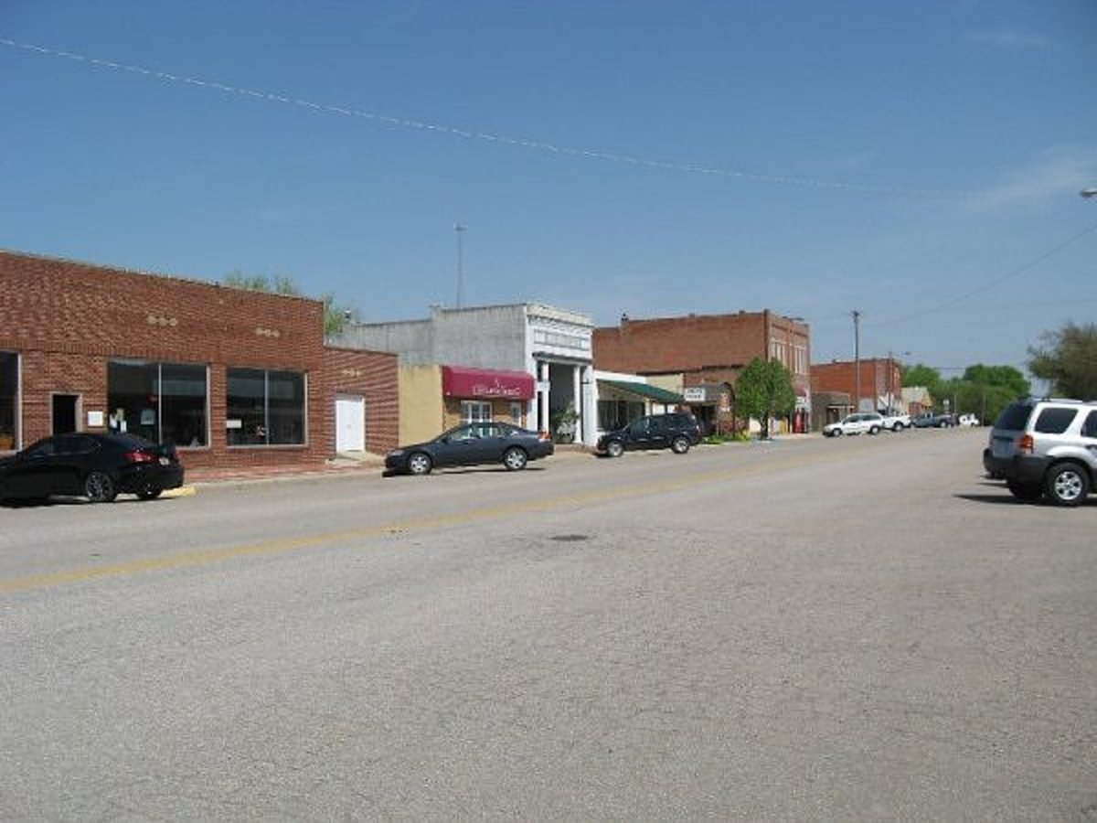 Main Street in Whitewater KS