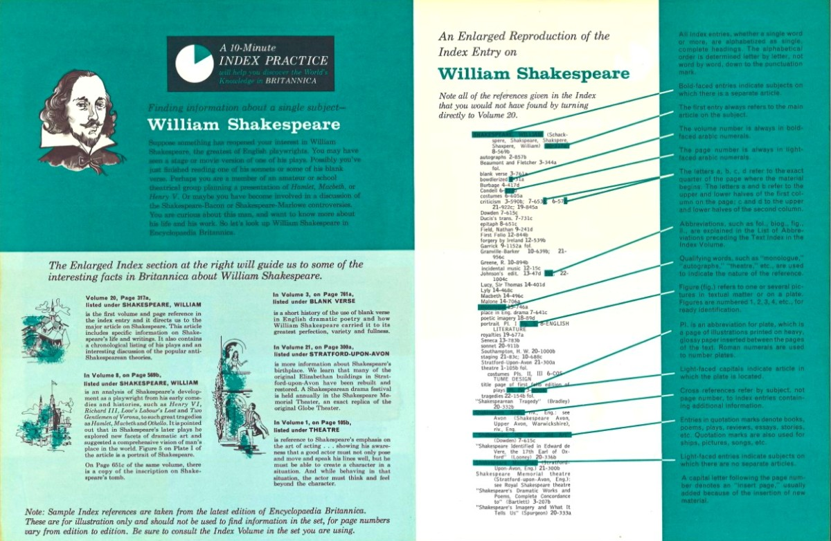 Suppose something has reopened your interest in William Shakespeare, the greatest of English playwrights. You may have seen a stage or movie version of one of his plays.