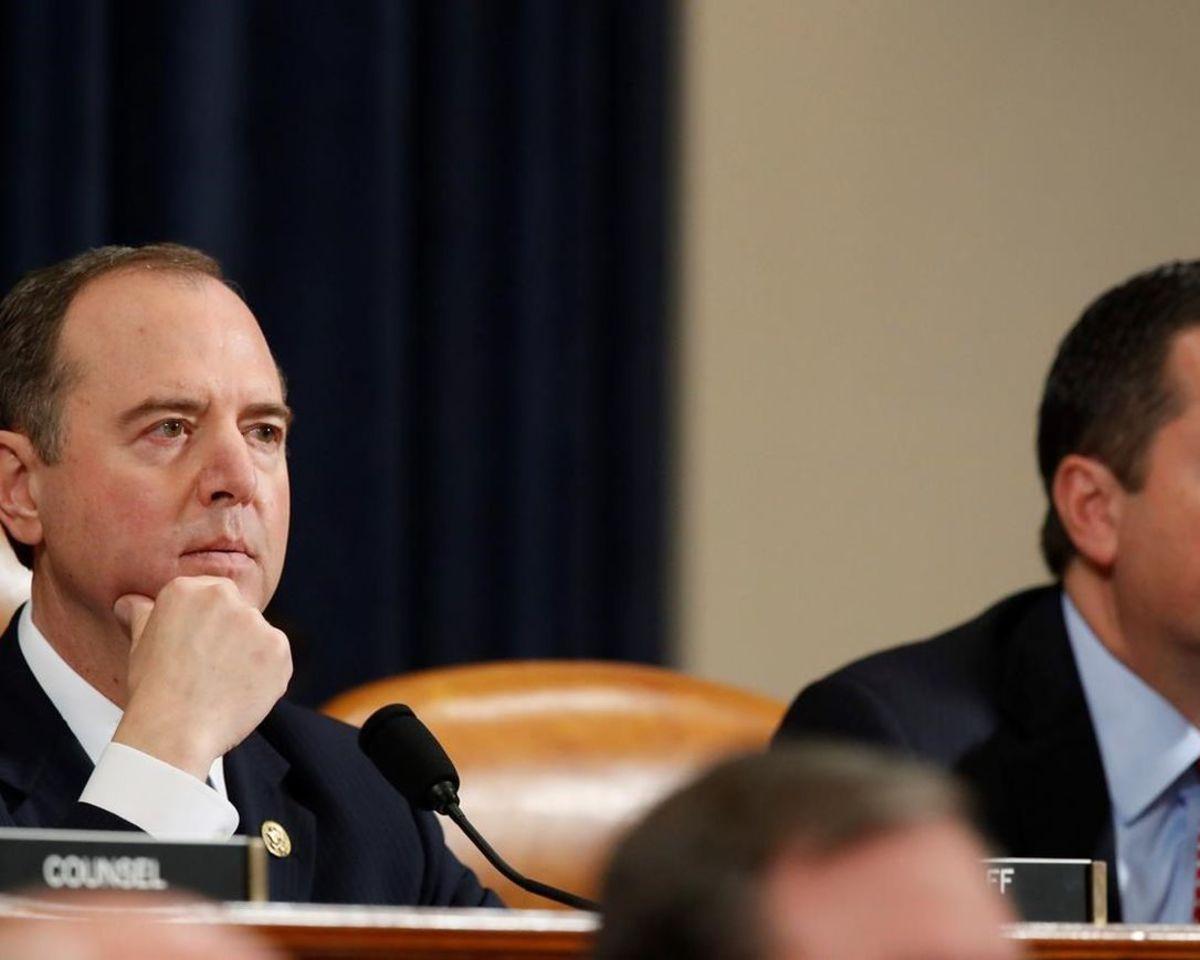 U.S. Representative Adam Schiff (D) Impeachment Hearing Chairman