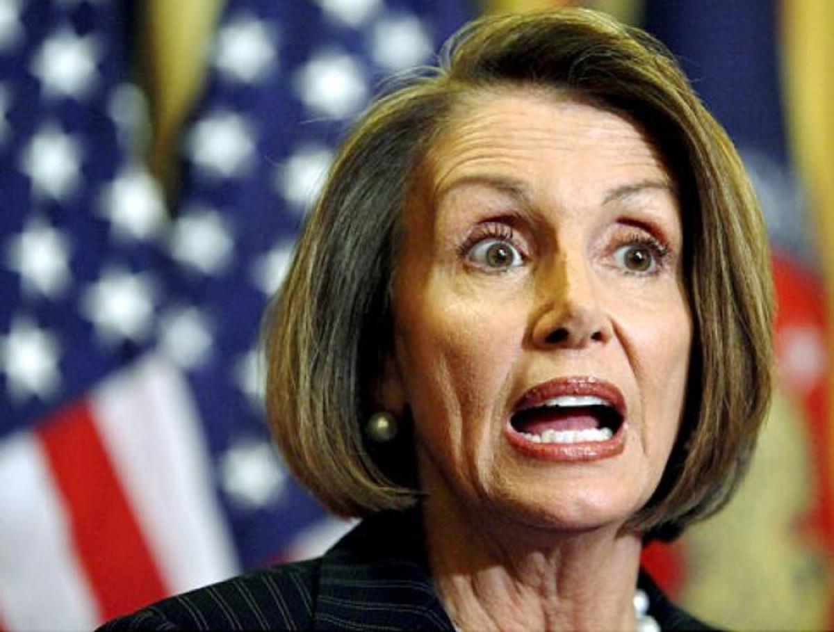 Speaker of the House Nancy Pelosi (D)