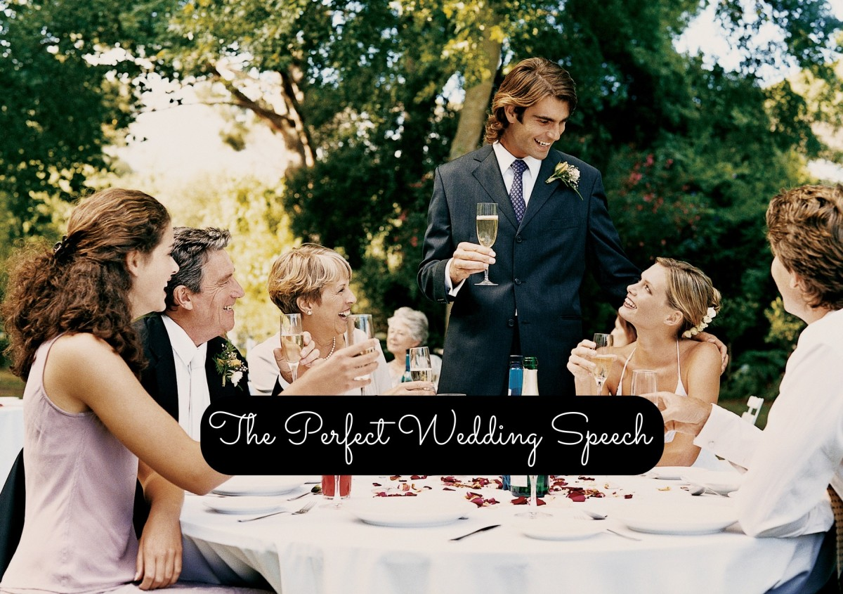 How to Come up with the Perfect Speech or Toast for a Wedding