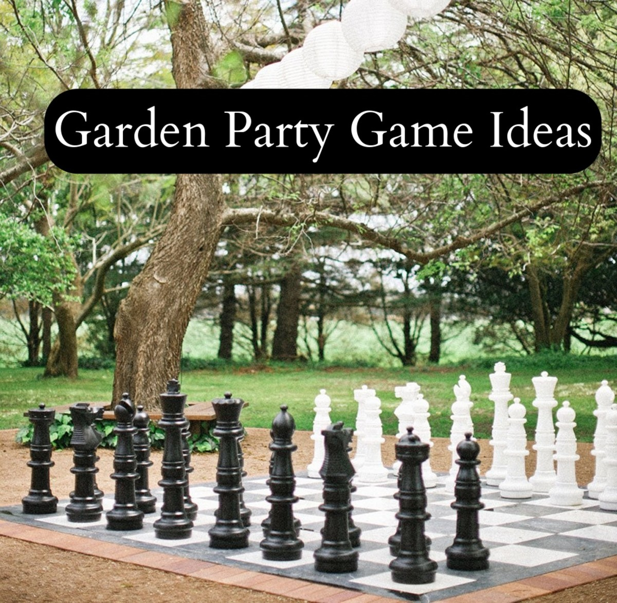 Have fun games out in the yard. People like games that make it easier to interact with other people. Giant size Chess or Checkers boards are popular. Croquet is a classic.