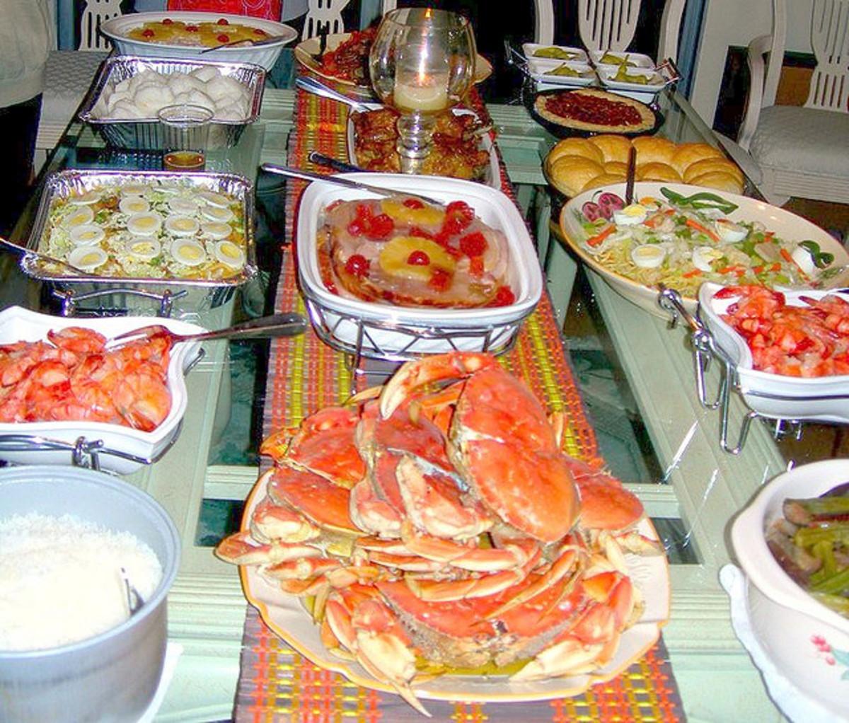 Food for Noche Buena
