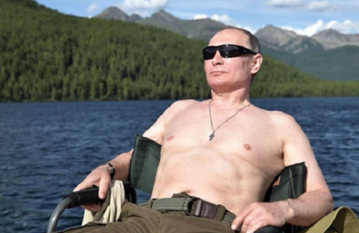 Vladimir Putin Signed a Law Allowing Him to Stay in the Presidency for Two More Terms