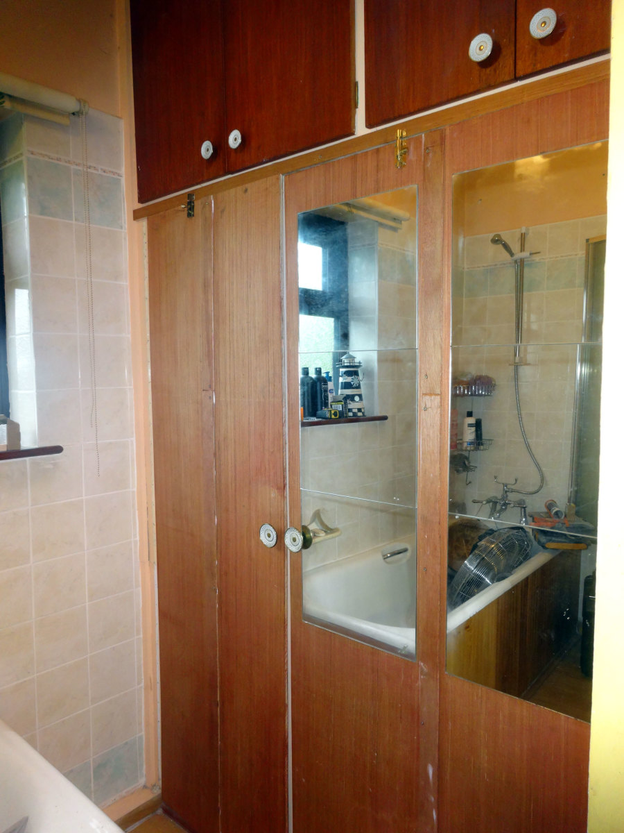 Resizing Built-in Bathroom Cupboards
