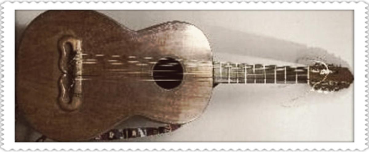 A huapanguera guitar