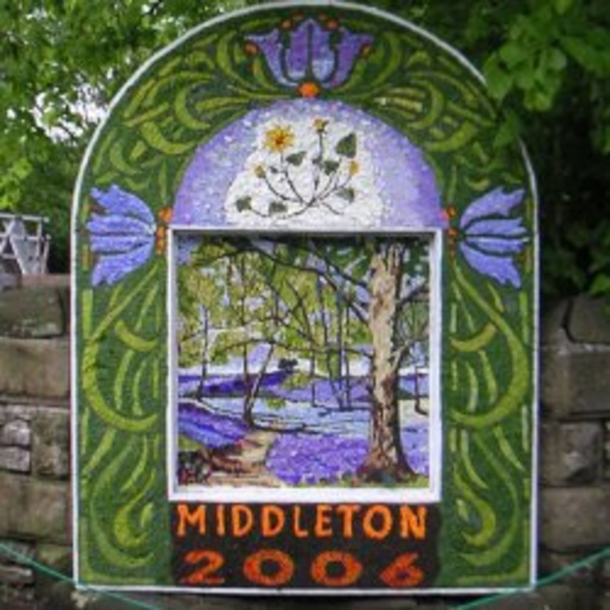 Middleton well dressing