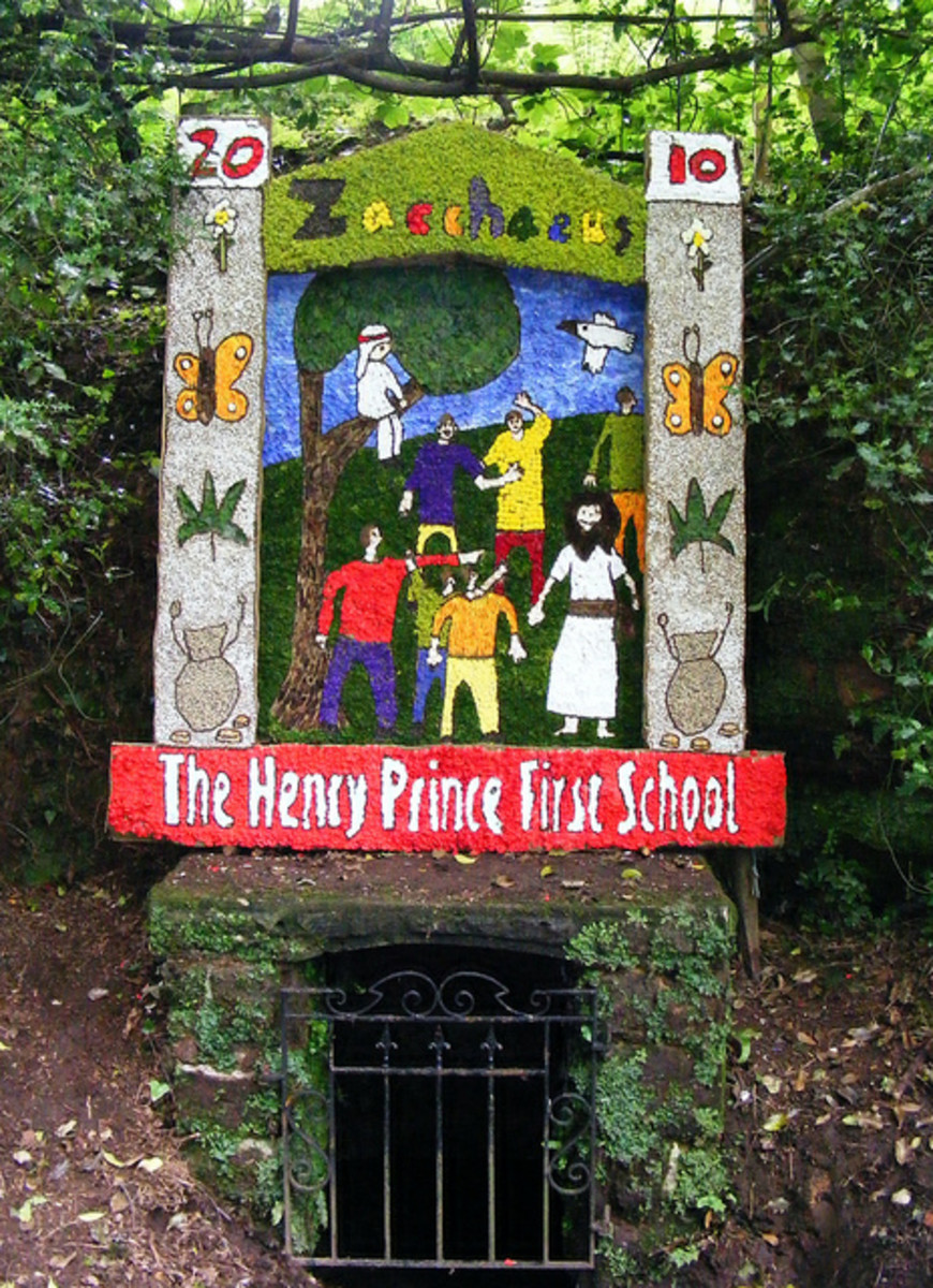 Henry Prince First School Well at Ashborne, Derbyshire