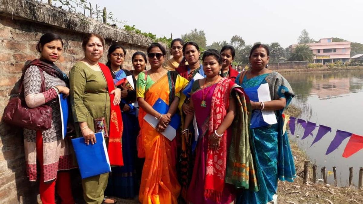 Participating volunteers