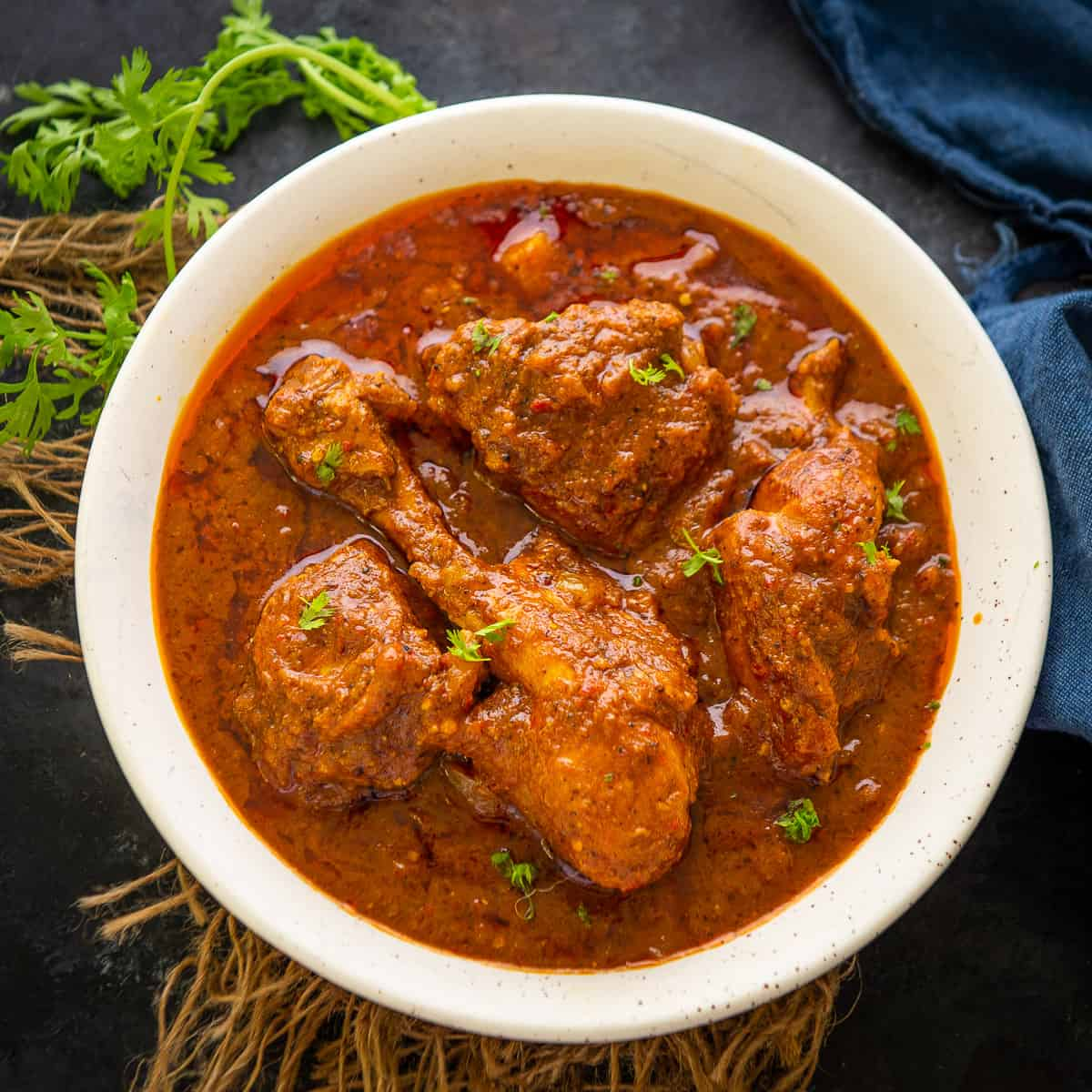 10 Fiery Red Spicy Chicken Curries of India