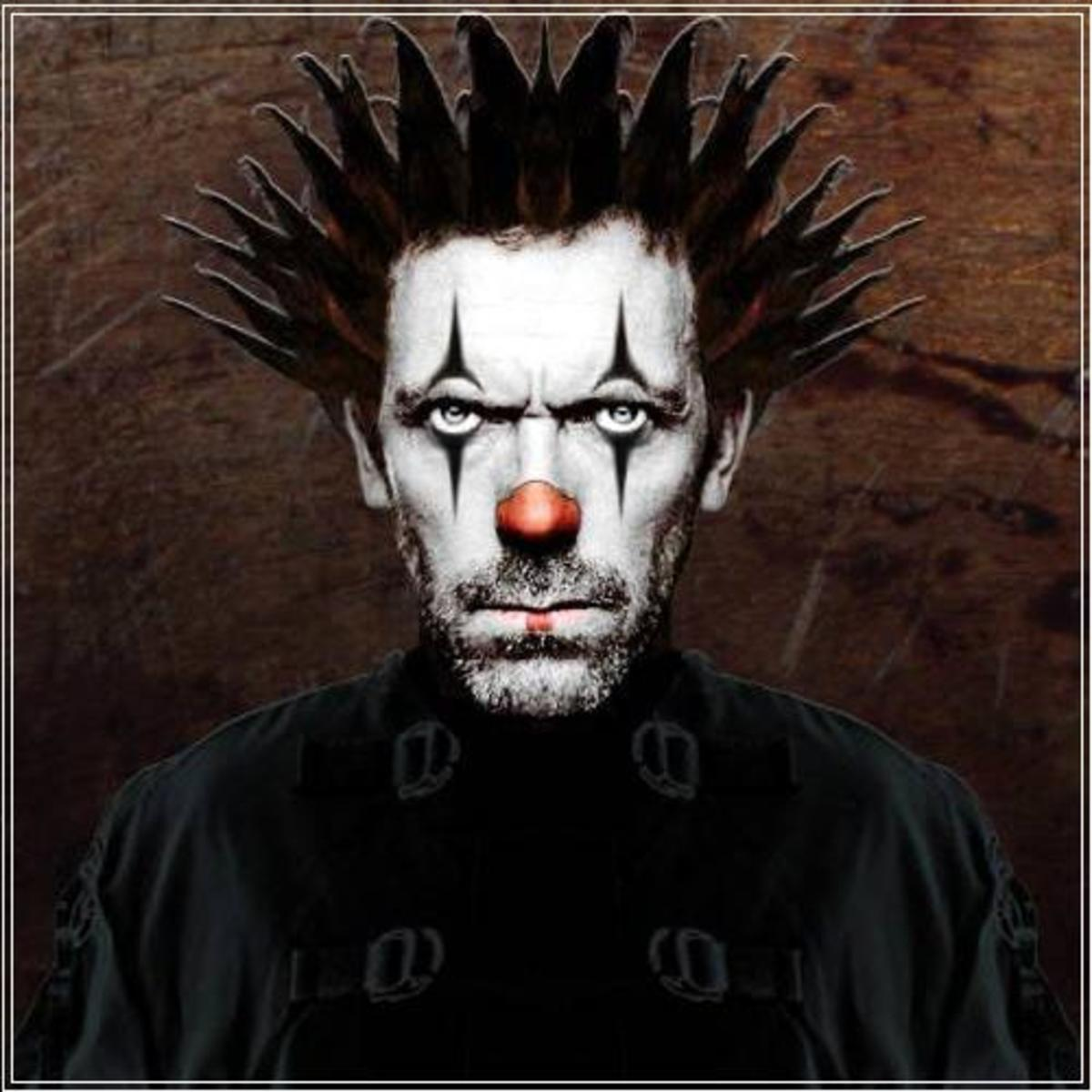 Chiron symbolizes a clown