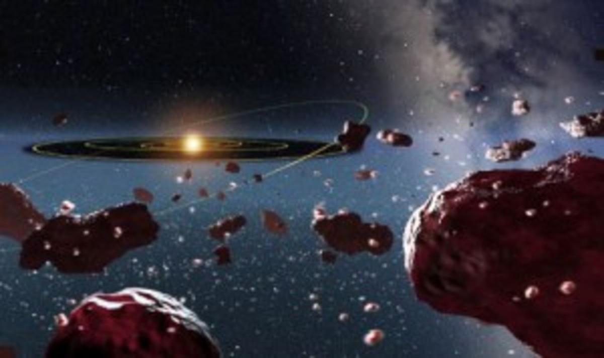Chiron - the asteroid orbiting between Uranus and Saturn