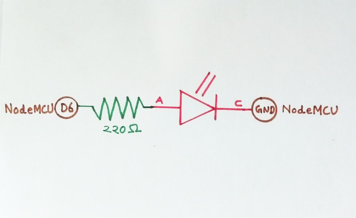 Switch On And Off Led Remotely Using Adafruit IO Platform