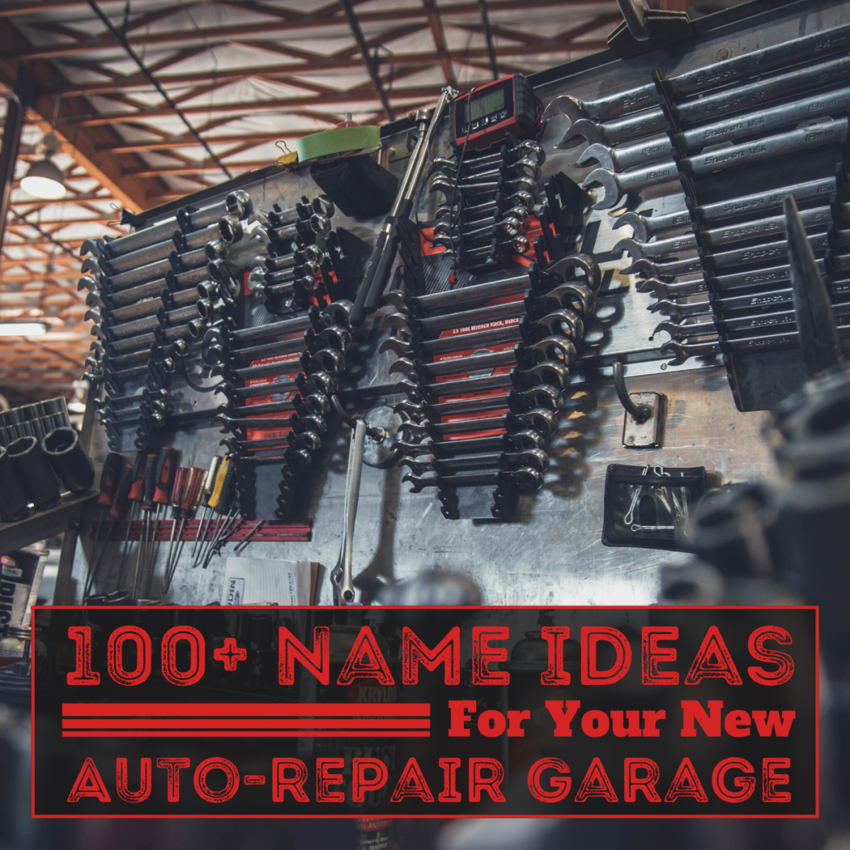 Thinking of starting a business as an auto mechanic? Picking the right name can help you stand out.