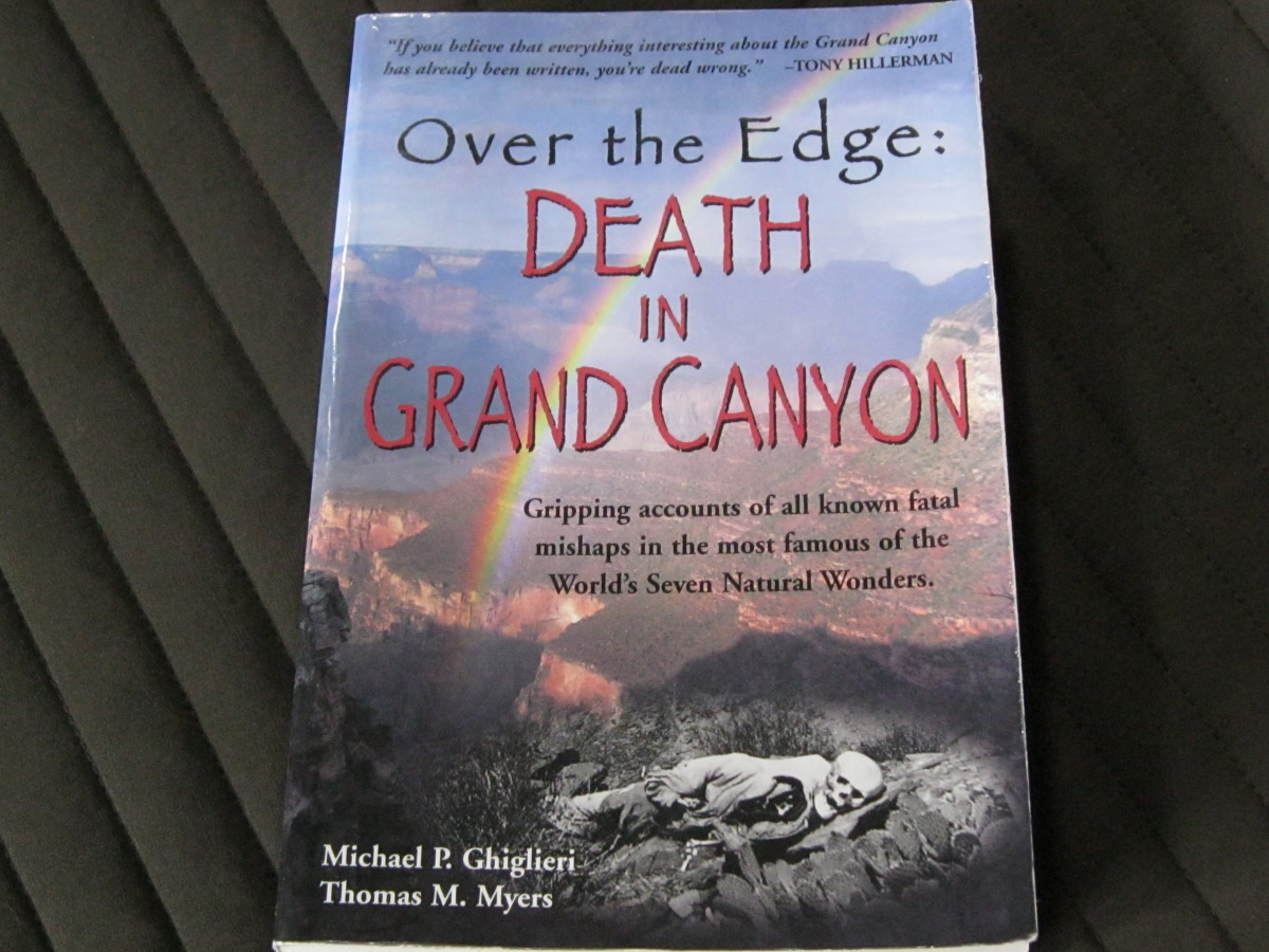 Book Review of Over the Edge Death in Grand Canyon  Fatal Mishaps