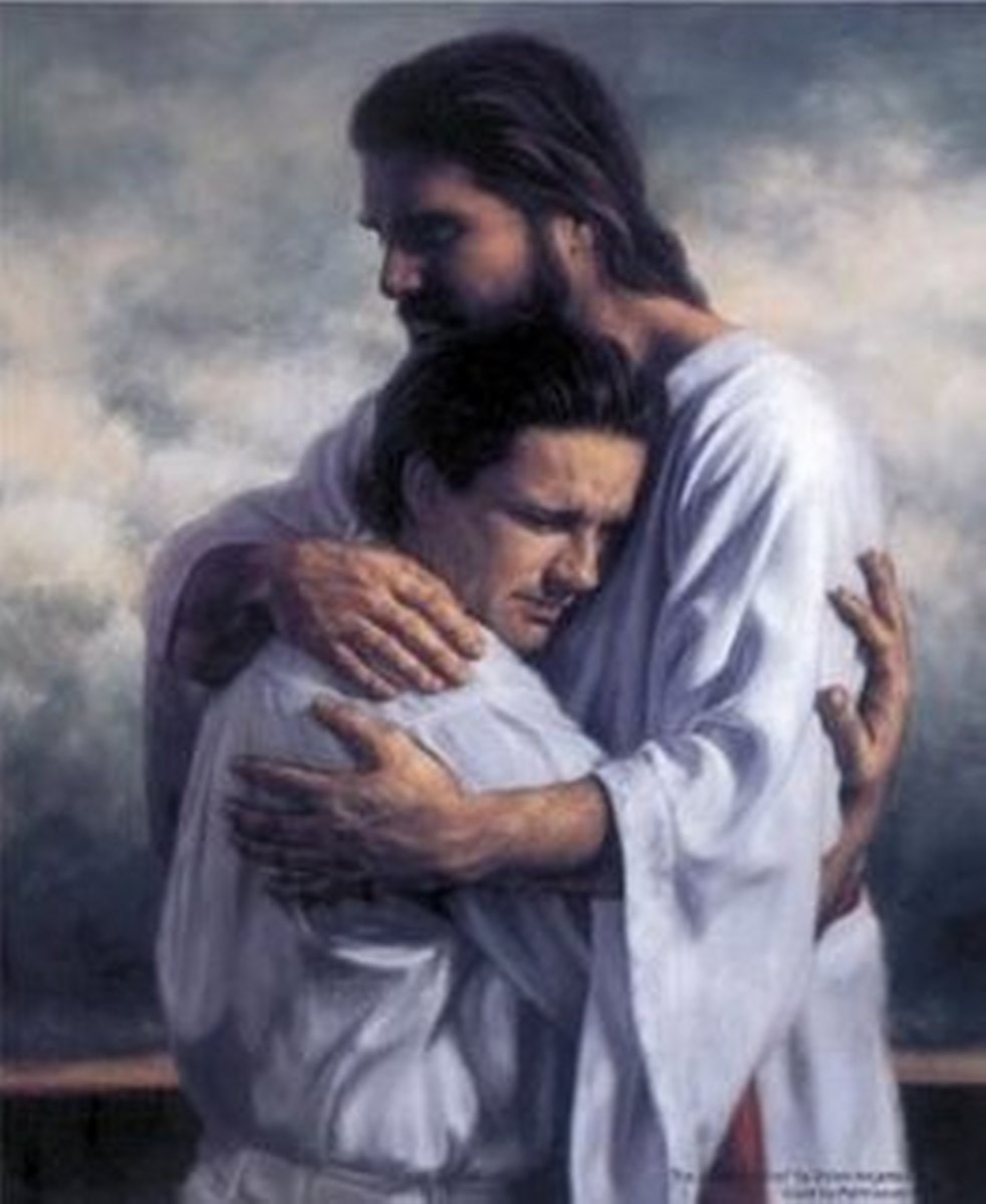Only Jesus Can Hug You Until All Your Issues Are Gone!