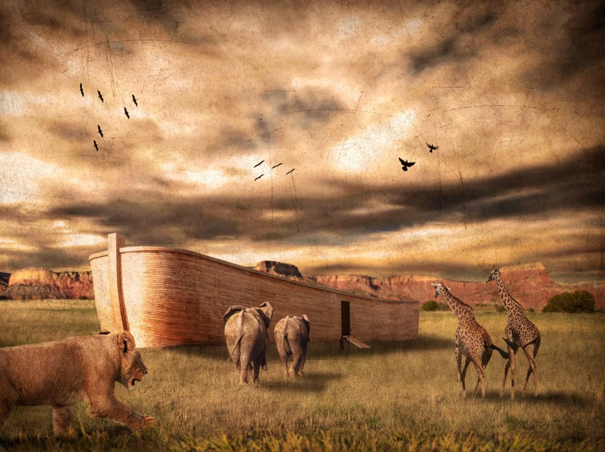 Literally, As In the Days of Noah!