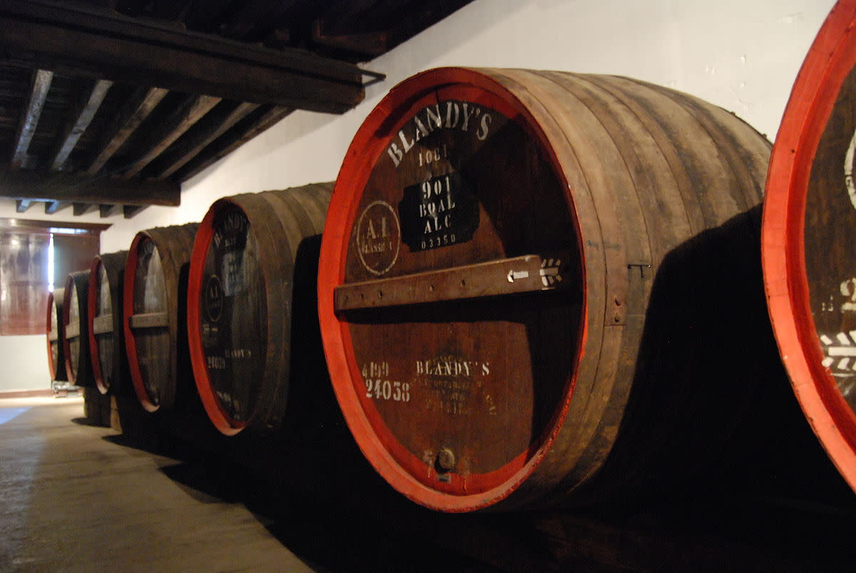Old Blandy's Wine Lodge, Funchal, Maderia, Portugal