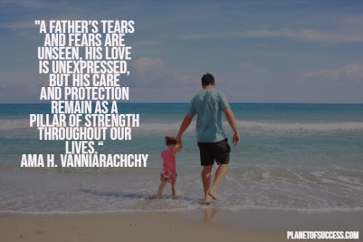 Best Four Qualities that Father's have