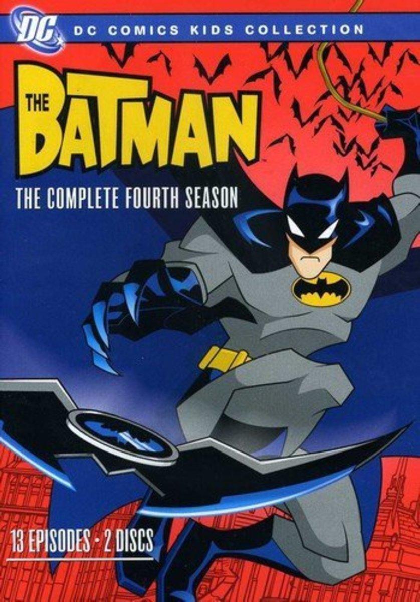 """""""The Batman"""" season 4 official DVD cover."""