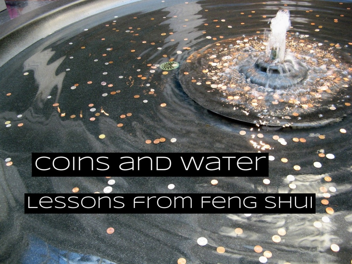 In feng shui, water and money are seen as similar. They have similar lessons attached to them, and we talk about them in similar ways. Respecting water is a way of respecting your wealth.